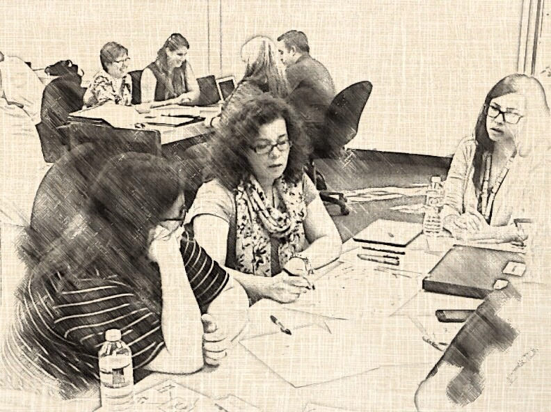"""photo credit: WRDSB teachers collaborating: """"The group recorder"""" via photopin (license)"""